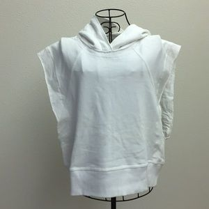 NWOT sleeveless sweatshirt